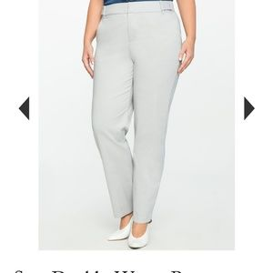 Eloquii Sam Double Weave Pants
